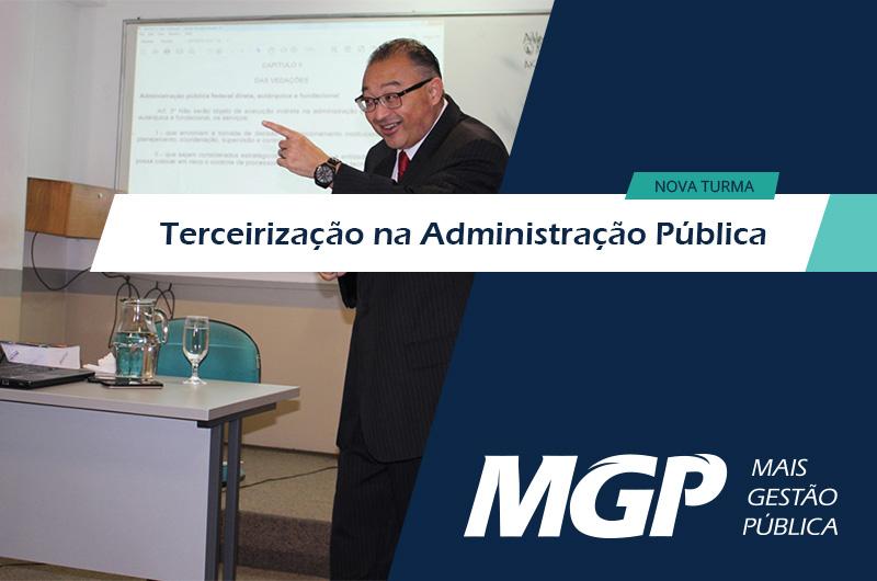 Terceirização na Administração Pública